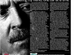 Remembering my friend, one car at a time</br>Jan 4, 2016