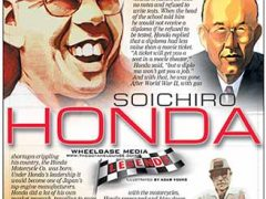 Soichiro Honda</br>Legends May 9, 2016