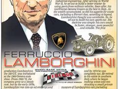Ferruccio Lamborghini</br>Legends April 11, 2016