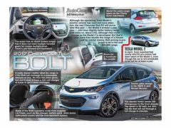 2017 Chevrolet Bolt</br>AutoGraph July 17, 2016