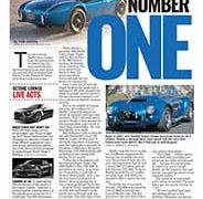 Shelby Number One</br>The Octane Lounge March 14, 2016