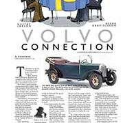 Profiles, The Volvo connection</br>August 22, 2016