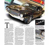 Fine Lines, American Motors AMX</br>Fine Lines September 19, 2016