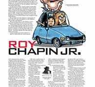 Profiles, Roy Chapin Jr.</br>September 5, 2016
