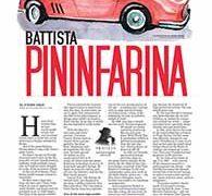 Profiles, Battista Pininfarina</br>September 12, 2016