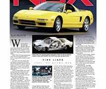 Fine Lines: Acura NSX</br>Fine Lines October 24, 2016