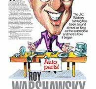 Profiles, Roy Warshawsky</br>September 26, 2016