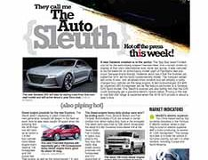 The Auto Sleuth</br>Sept 19, 2016