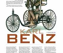 Profiles, Karl Benz</br>November 7, 2016