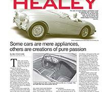 Fine Lines: 1953-1968 Austin Healey</br>Fine Lines February 6, 2017