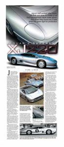 Fine Lines: Jaguar&#8217;s Super Cat, the XJ200</br>Fine Lines May 15, 2017