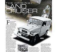 Fine Lines: Toyota Land Cruiser, 1960-&#8217;83</br>Fine Lines June 19, 2017