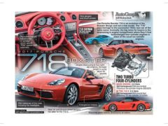 2017 Porsche 718 Boxster</br>AutoGraph May 29, 2017