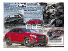 Mercedes-Benz GLE Coupe</br>AutoGraph July 24, 2017