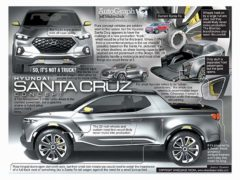 Hyundai Santa Cruz</br>AutoGraph July 3, 2017