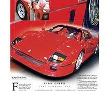 Fine Lines: Ferrari F40</br>Fine Lines September 11, 2017
