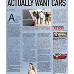 Millennials actually want cars</br>The Octane Lounge August 21, 2017
