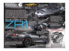 2018 Corvette ZR1</br>AutoGraph September 25, 2017