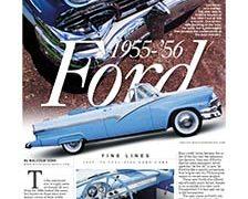 Fine Lines: 1955-&#8217;56 Ford</br>Fine Lines December 18, 2017