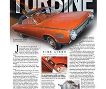 Fine Lines: Chrysler Turbine</br>Fine Lines November 13, 2017