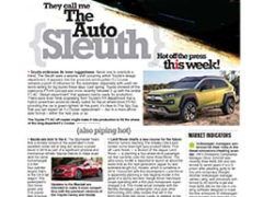 The Auto Sleuth</br>November 20, 2017