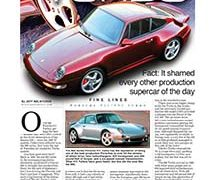 Fine Lines: Porsche 993 Turbo</br>Fine Lines January 8, 2018
