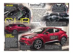 Toyota C-HR</br>AutoGraph February 12, 2018