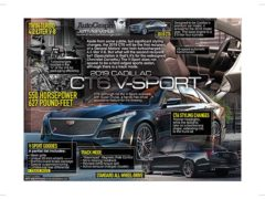 2019 Cadillac CT6 V-Sport</br>March 12, 2018