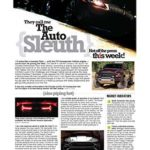 The Auto Sleuth</br>April 9, 2018