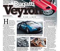 Fine Lines: Bugatti Veyron</br>Fine Lines July 16, 2018