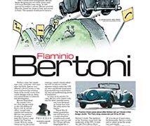 Profiles, Flaminio Bertoni</br>April 2, 2018