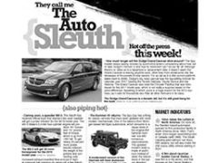 The Auto Sleuth</br>June 11, 2018