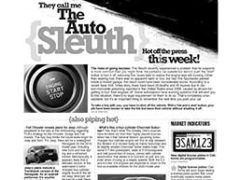 The Auto Sleuth</br>May 21, 2018