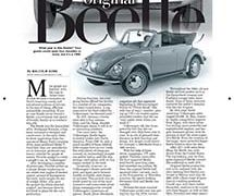 Fine Lines: The Original Beetle</br>Fine Lines August 6, 2018