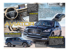 2020 Lincoln Aviator</br>October 15, 2018