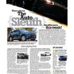 The Auto Sleuth</br>January 15, 2019
