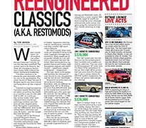 When you love  the look of 50-year-old cars, but not the 50-year-old technology that comes with them</br>The Octane Lounge October 22, 2018