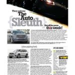 The Auto Sleuth</br>January 29, 2019